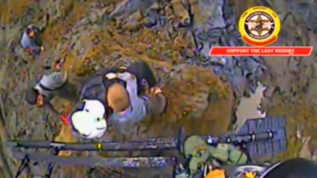 Video Captures Rescue of Young Boy from Mudslide