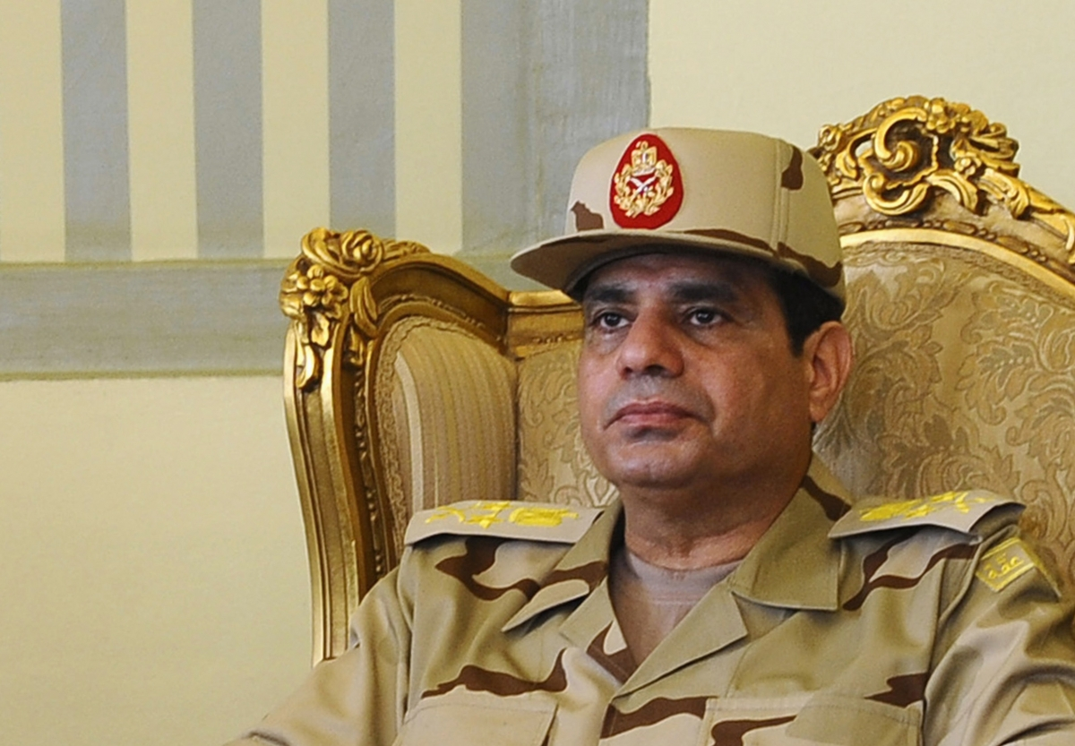 Sisi Egypt Defence Minister President Military General Coup Morsi