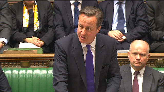 Cameron: EU Must Reduce Dependency on Russian Gas