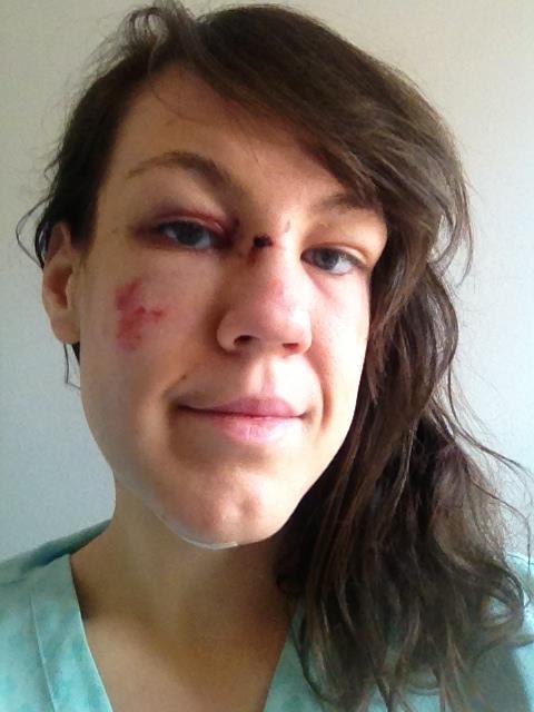 Jeanne Marie Ryan no make up selfie