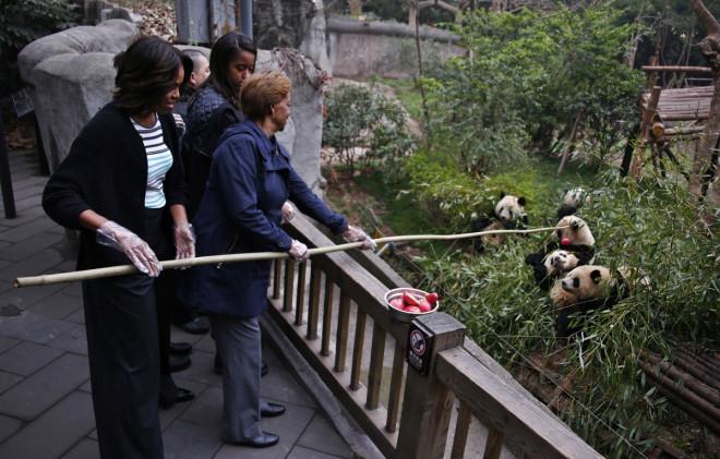 Michelle Obama China Visit