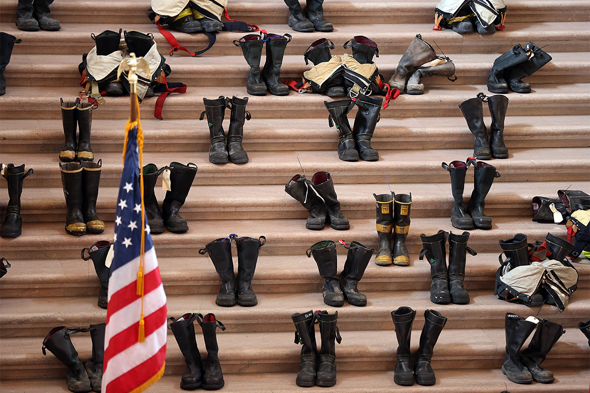 firefighters boots
