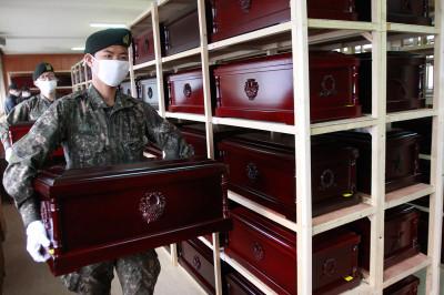 korea coffins