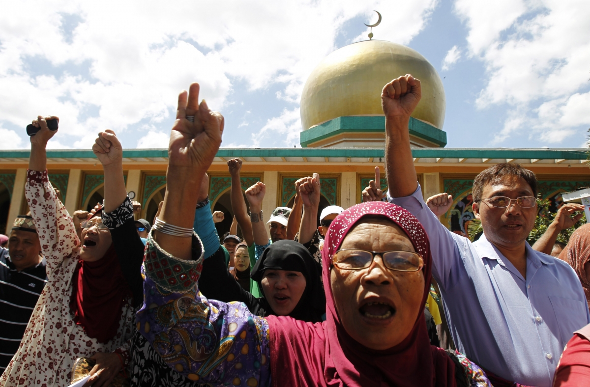 Philippines Human Rights Muslim Rebels Conflict Peace Deal South East Asia