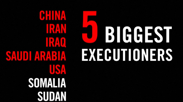 Amnesty: Iran and Iraq Spike Death Penalty Trend