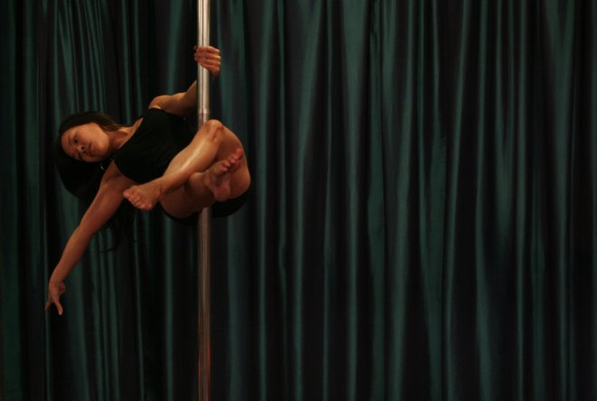 Pole dance is the latest craze to hit the UAE.