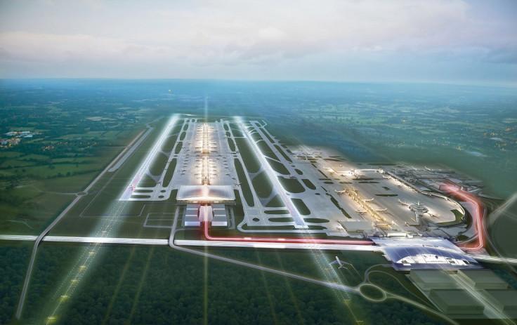 Gatwick Airport Runway