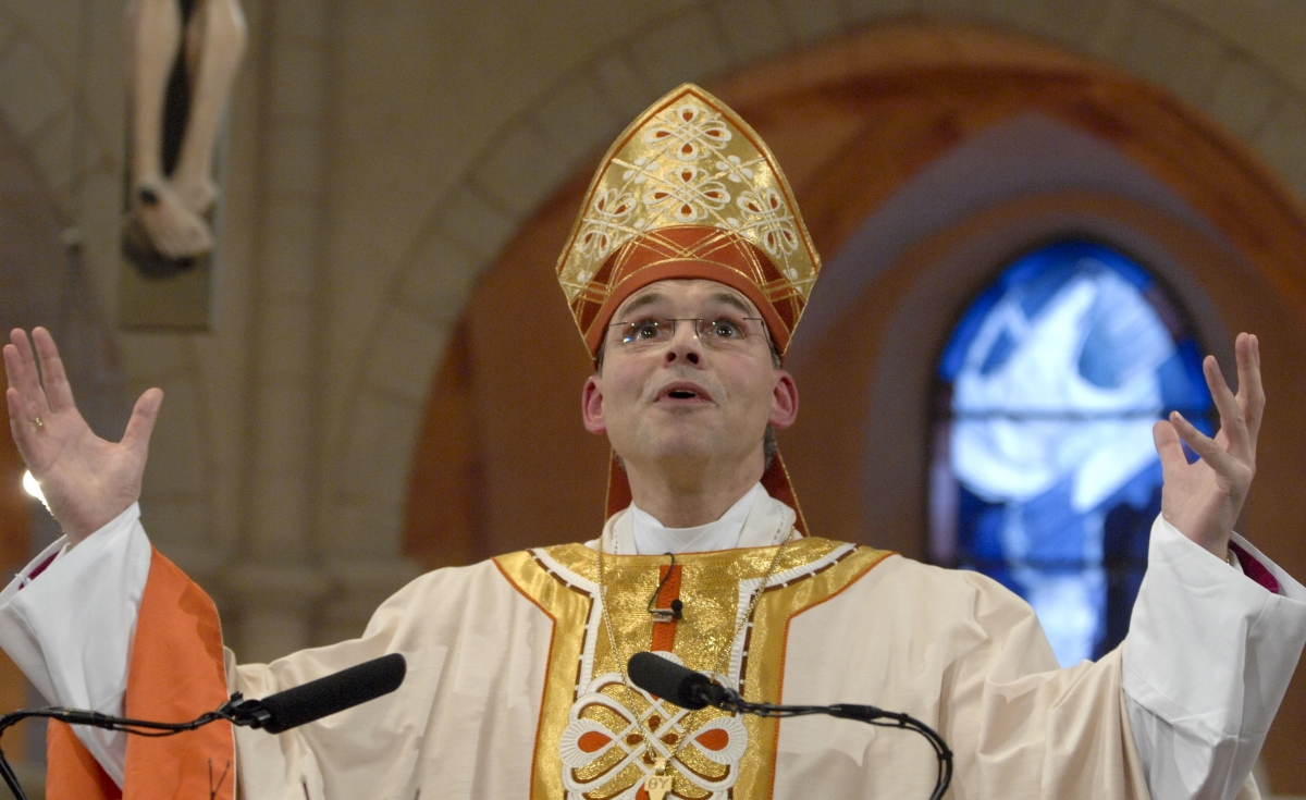 Bishop of Bling Fishtank Spend Vatican Ridiculous