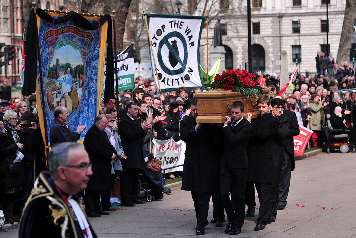 coffin banners