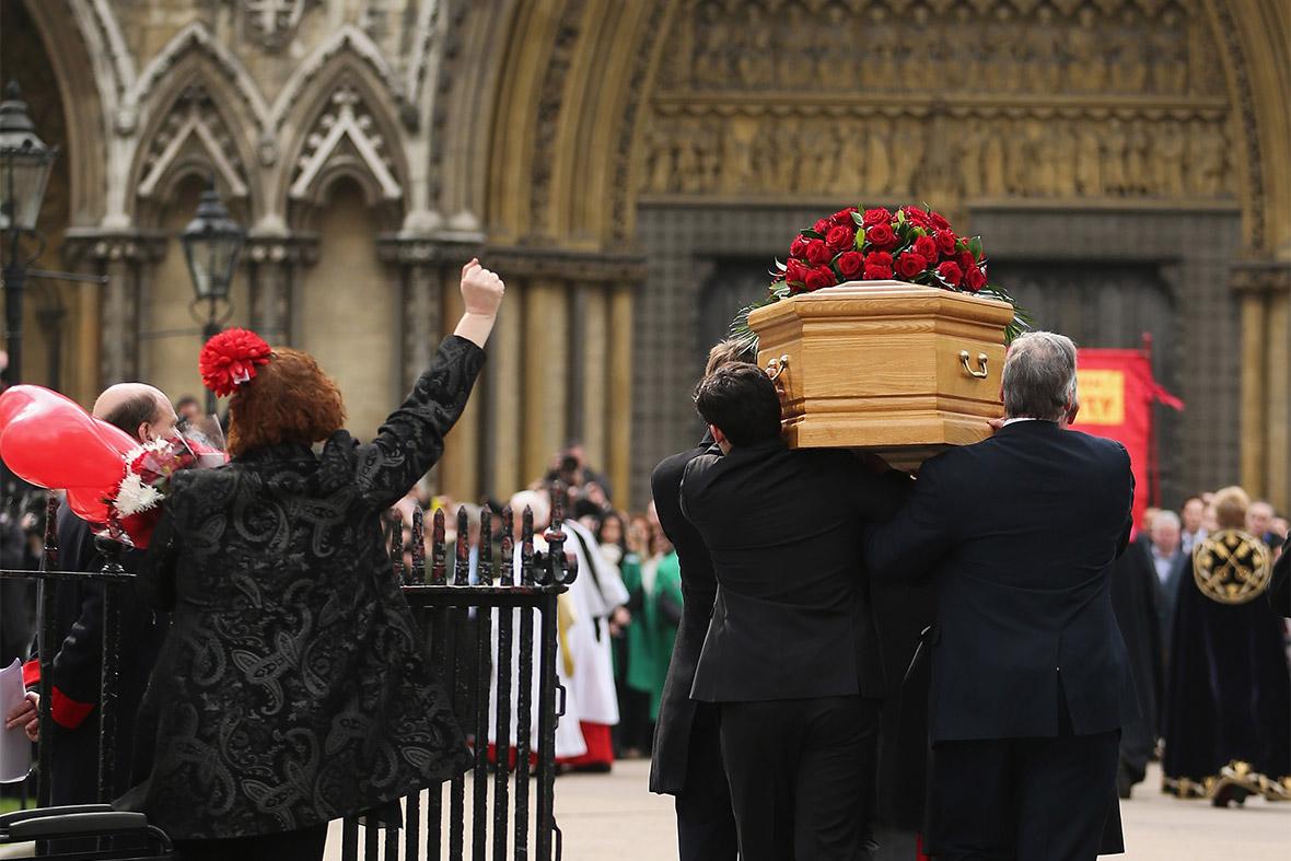 coffin first