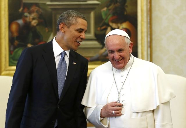 Obama Meets Pope Francis at the Vatican