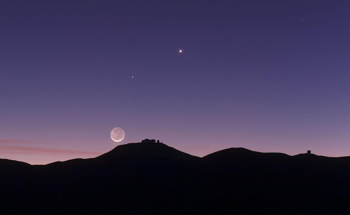 Venus and Mercury conjunction