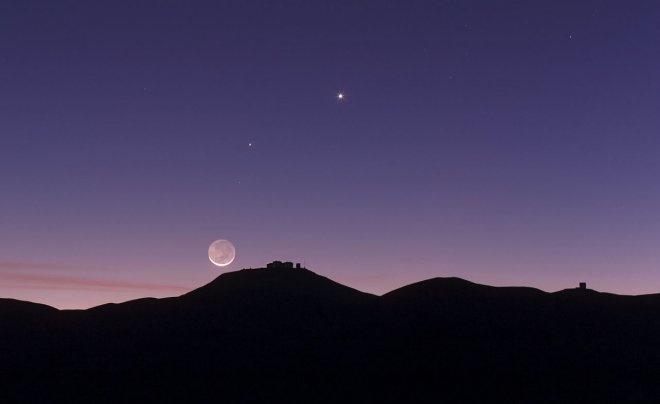 Venus and Mercury conjunction