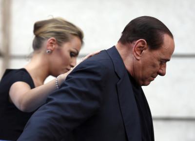 Silvio Berlusconis girlfriend