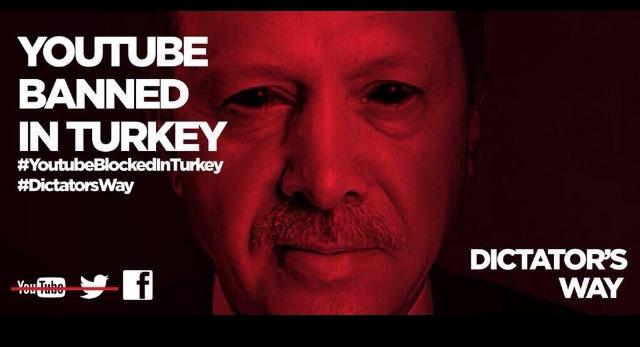 YouTube banned in Turkey