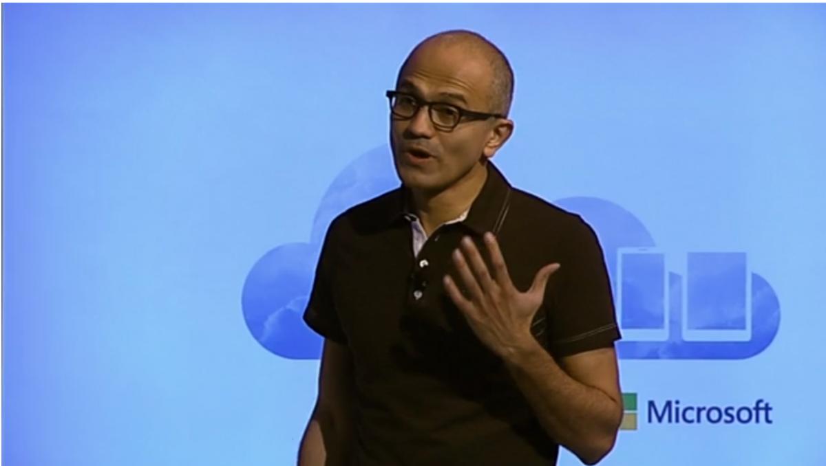 Satya Nadella Announces Office for iPad