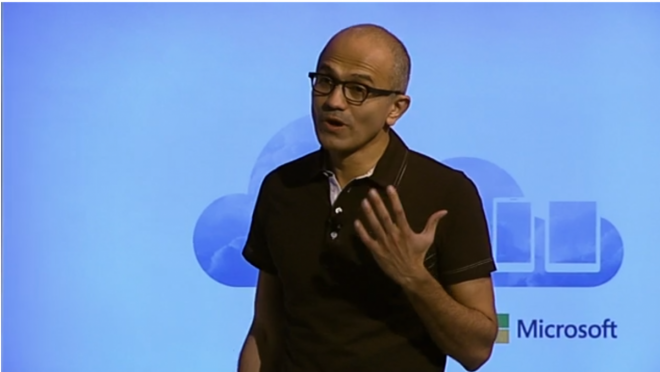 Satya Nadella Announces Office for iPad