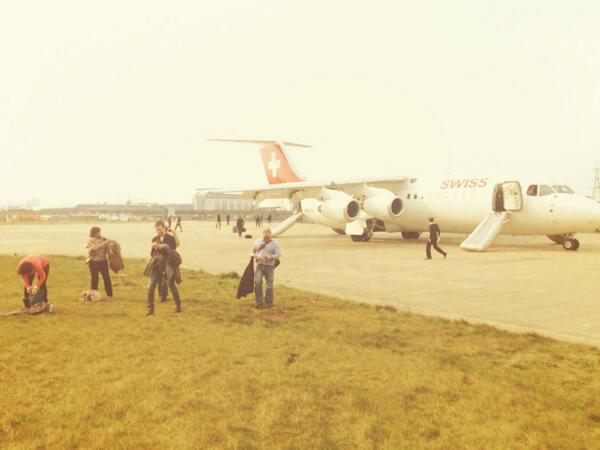 Swiss flight LX437