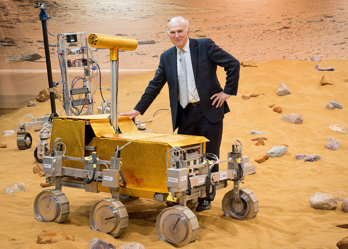 Vince Cable Mars