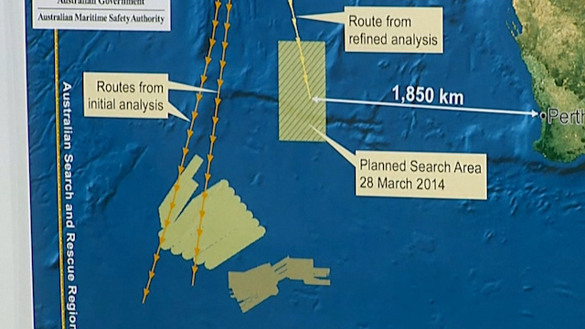 MH370: 'Credible Lead' Shifts Debris Hunt to New Area