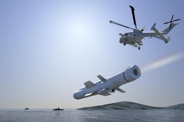 Royal Navy missiles
