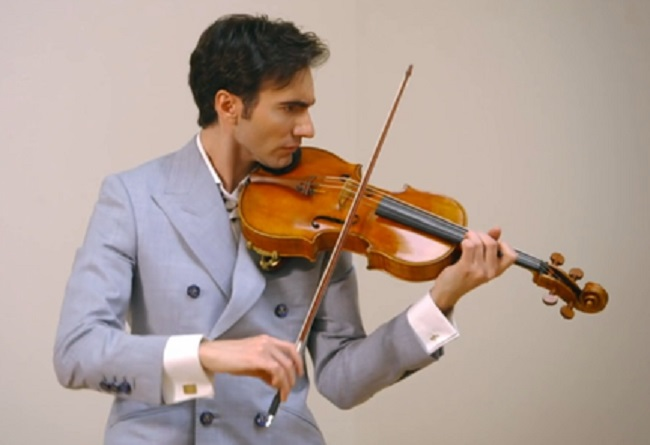 David Aaron Carpenter playing the rare MacDonald viola
