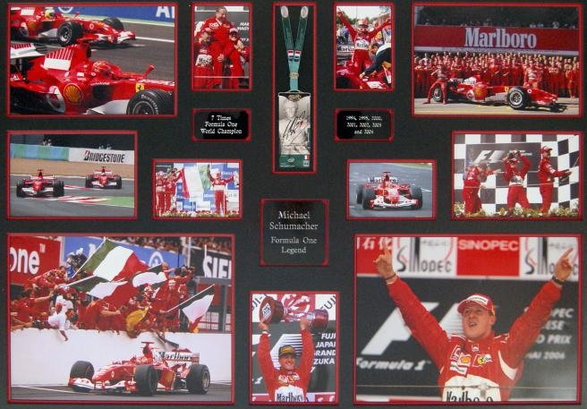 Paddock pass signed by Michael Schumacher up for auction in aid of Prince's Trust