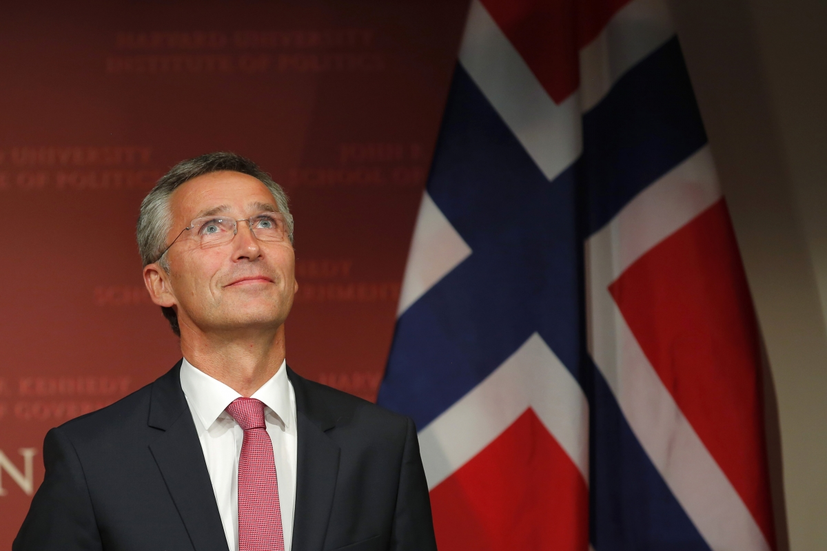 Norway's former prime minister Jens Stoltenberg