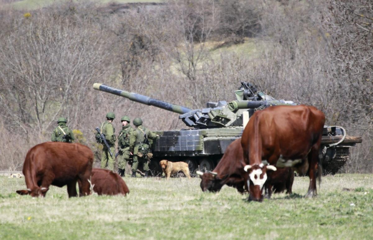 Russian Troops Military Ukraine Tank