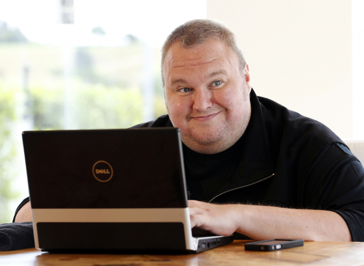Kim Dotcom - a controversial hacker, businessman, singer and now politician