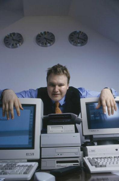 Kim Dotcom in 1996