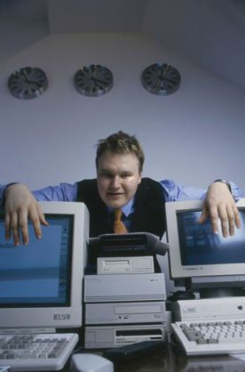 Kim Dotcom in 1996