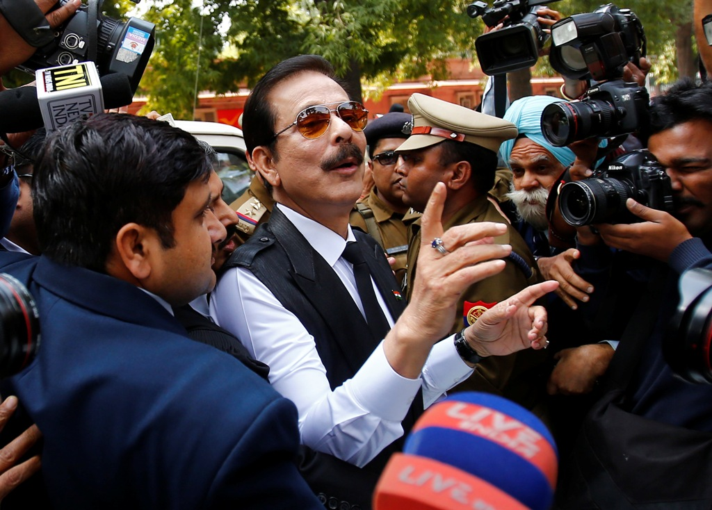 Sahara Group Staff Offer to Collect $835m for Subrata Roy's Release