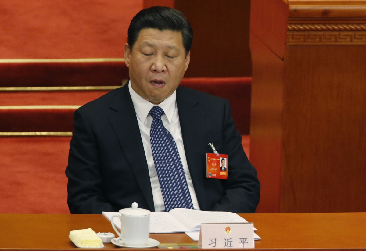 Chinese president Xi Jinping says China, the sleeping lion has woken up