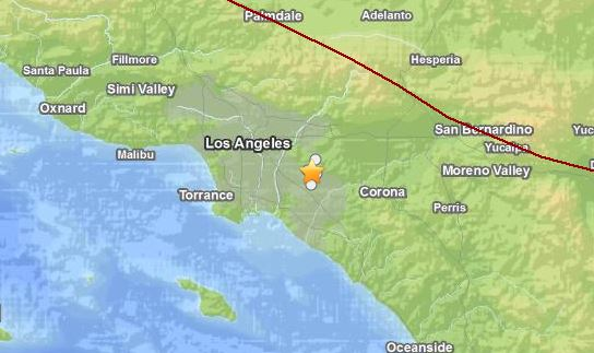 A magnitude 5.1 earthquake hit Southern California, shaking Los Angeles and its surrounding areas.