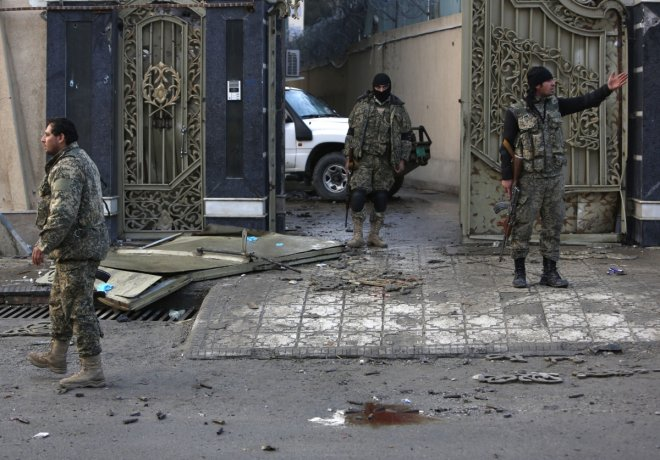 Taliban attack Election HQ Afghanistan