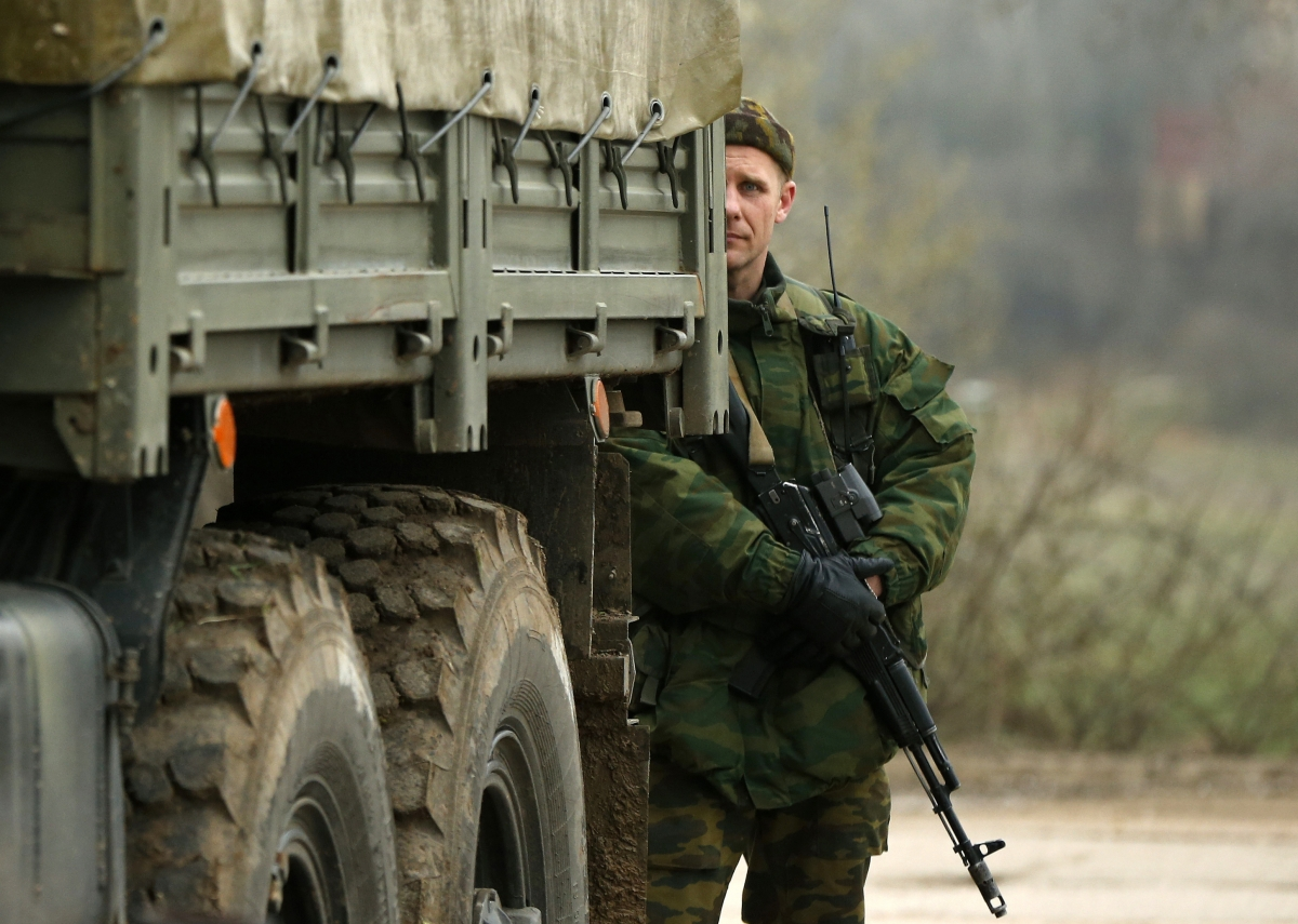 "United States fears troop build-up by Russia near Ukraine means another incursion is ""very real"" possibility"