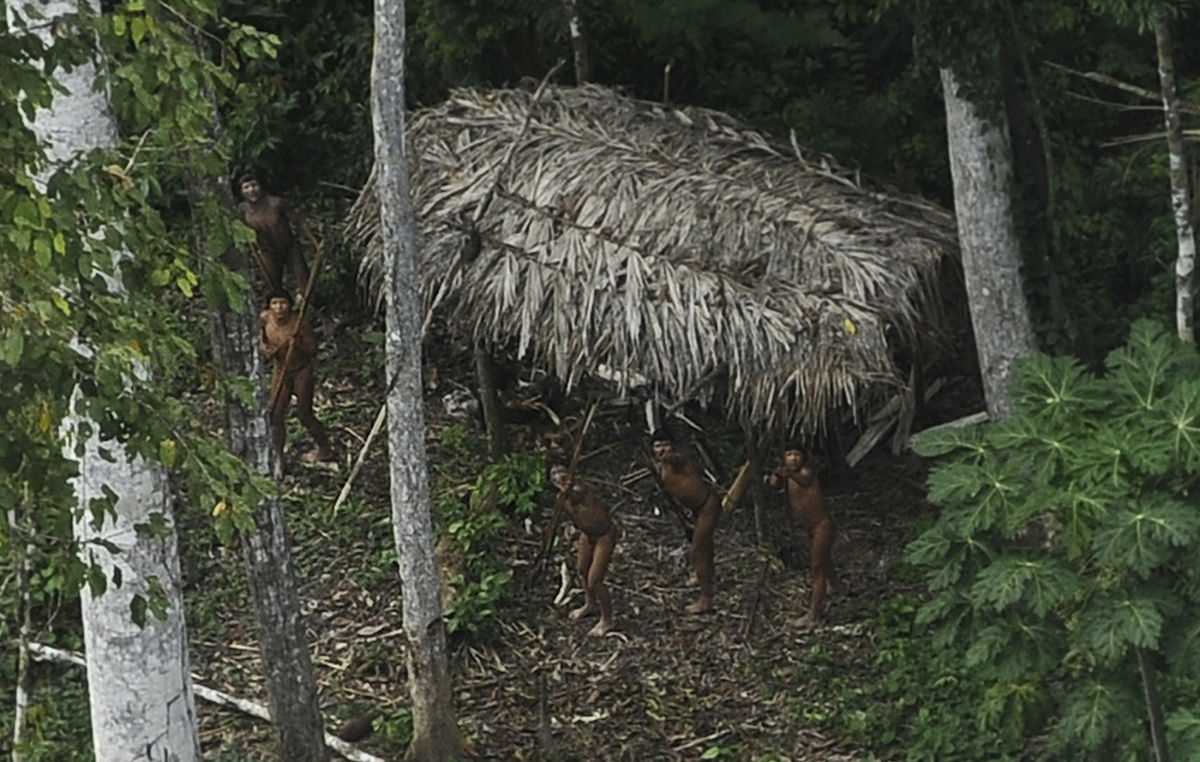 Amazon's Uncontacted Tribe