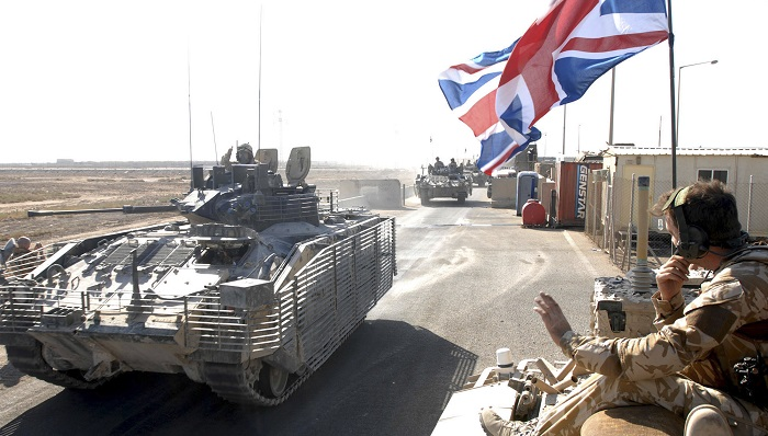 The British army now has just 227 Challenger tanks as the Ministry of Defence cuts military spending.