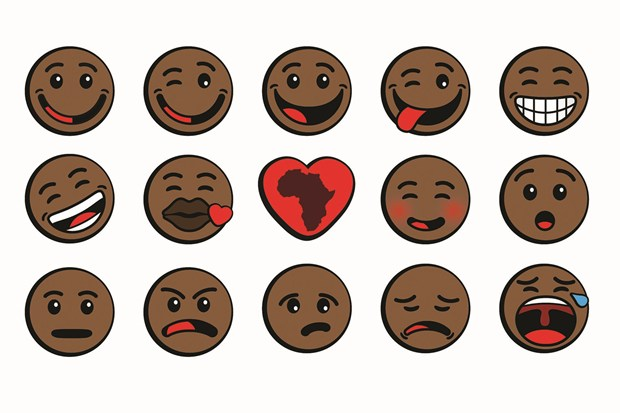 The Oju Africa emojis.