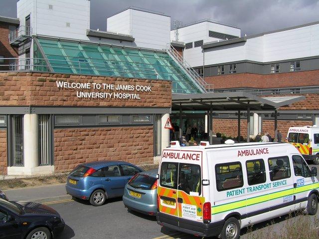 James Cook Hospital Map Sneezing Fit Kills Middlesbrough Teenager Liam Andrews