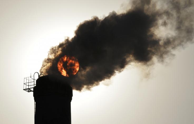 Coal Chimney England Scotland North Sea