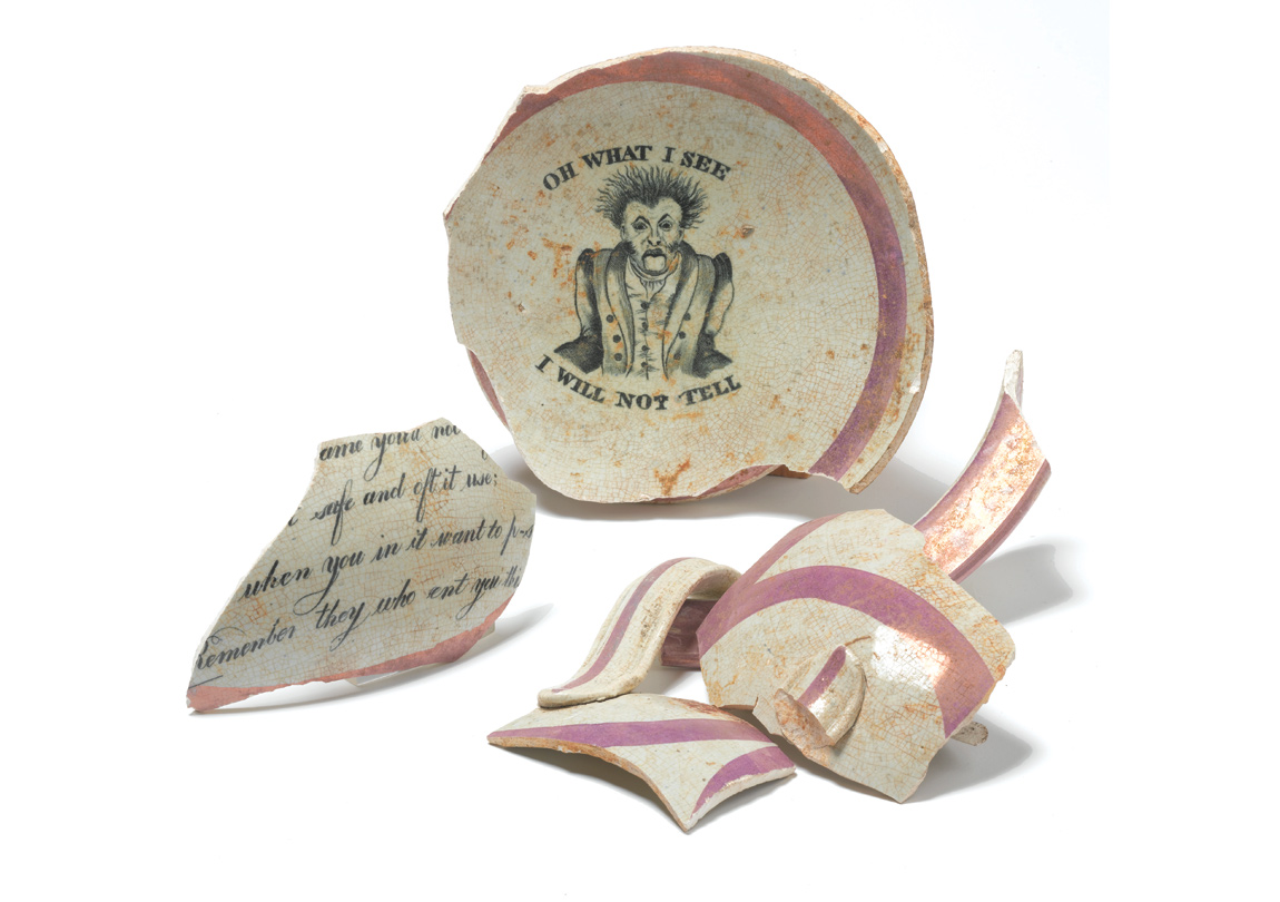 A Tudor chamberpot was also discovered in Stepney Green where the medival manor house once stood