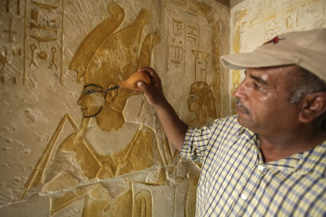 More buried treasures and artefacts come to light in the latest excavations in Egypt