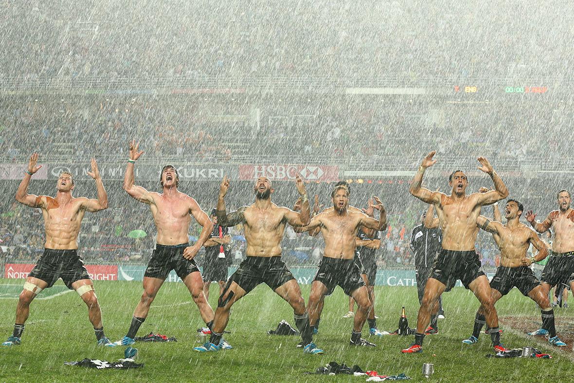 rugby rain