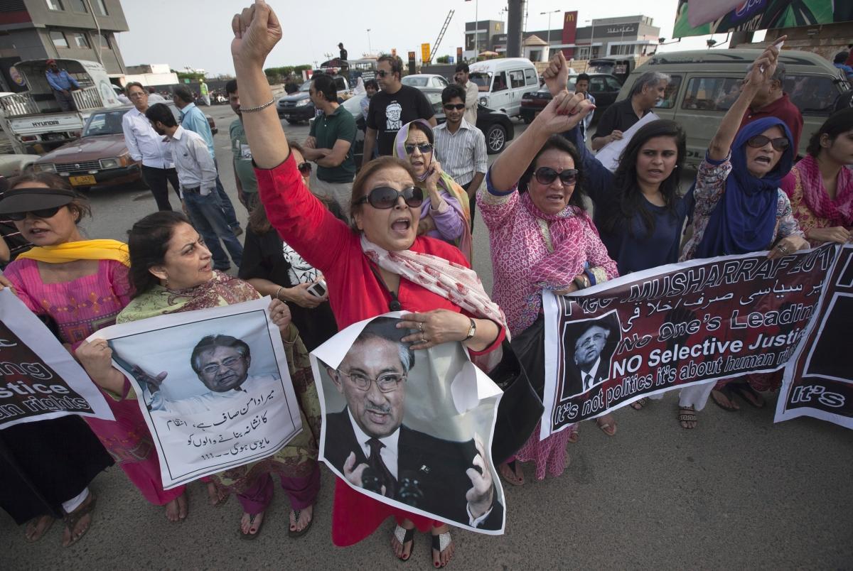 Musharraf court