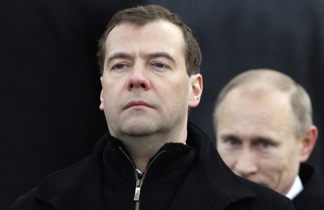 Medvedev Putin Russia Ukraine Europe