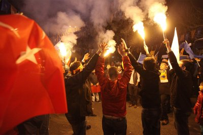 AKP celebrate