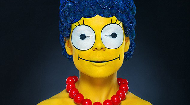 Marge Simpson Make-up