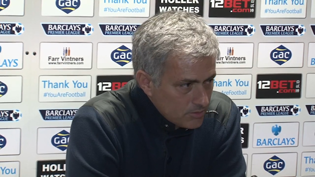 Jose Mourinho: Chelsea Cannot Win the Title